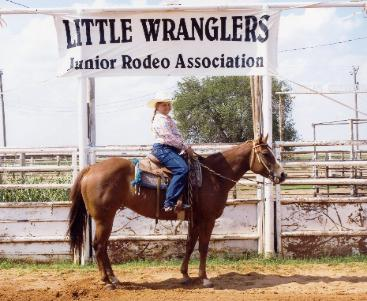 Prepared for junior rodeo competition.